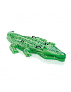 INTEX Grand Crocodile à Chevaucher 203 x 114 cm