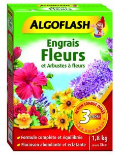 ALGOFLASH Engrais Fleurs et Arbustes à fleurs 1,8 kg