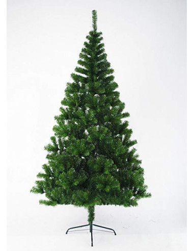Sapin vert artificiel H.180 cm, 300 branches