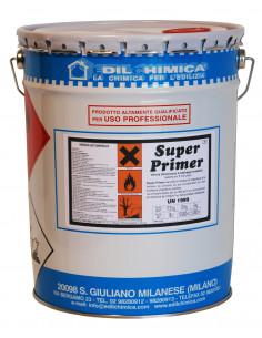 EDILCHIMICA SUPER PRIMER Vernis bitumineux au solvant séchage en 5 minutes 5000 ml