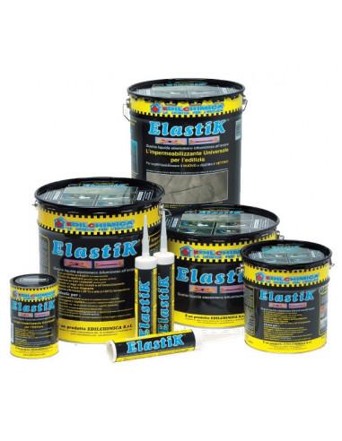 EDILCHIMICA ElastiK Membrane liquide élastomère bitumineuse à l'eau 1 kg