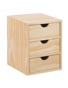 ASTIGARRAGA MINIBLOC Minibloc 3x1 (3) tiroirs 28 x 21 x 20 cm