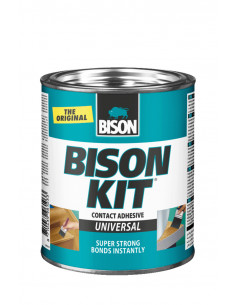 BISON KIT® Colle de contact universelle, liquide et super forte 650 ml
