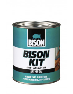 BISON KIT® Colle de contact universelle, liquide et super forte 250 ml