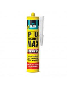 Bison colle bois transparente PU MAX EXPRESS 310ml