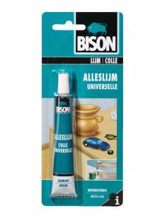 BISON Colle Universelle - Colle universelle pour réaliser 1 001 bricolages et tâches de collage domestiques Tube 25 ml