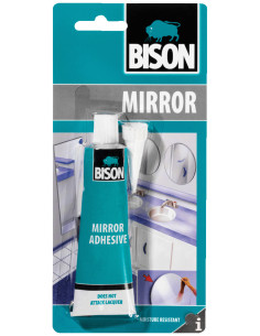 BISON MIRROR ADHESIVE Mirror adhesive specially recommended for joining (silver) mirrors 60 ml