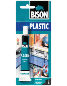 BISON PLASTIC ADHESIVE High quality, strong glue for plastics 25 ml