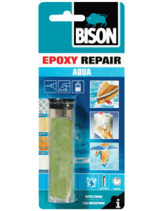 BISON EPOXY REPAIR AQUA Rock solid dual-component epoxy putty 56 g