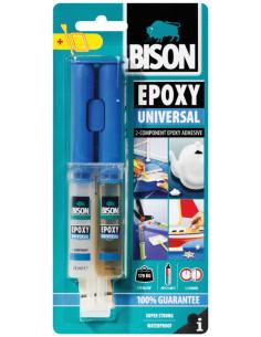 BISON EPOXY UNIVERSAL Universal strong dual-component epoxy adhesive 24 ml