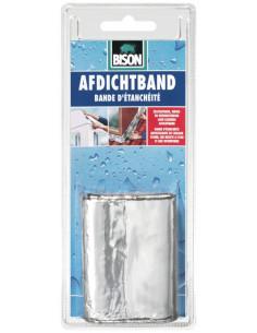 BISON Bande d'étanchéité gris plombé, qui résiste à l'eau et aux intempéries 75 mm x 1 m