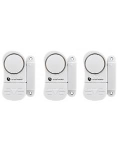SMARTWARES Kit de 3 mini alarmes pour porte et fenêtre SC07/3