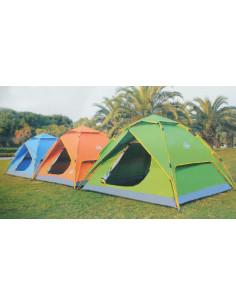 MARKET Tente dôme étanche avec moustiquaire 3-4 places