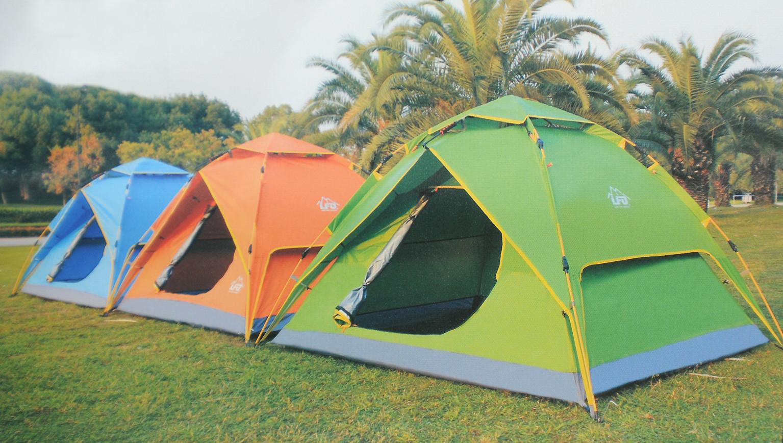 MARKET Tente dôme étanche avec moustiquaire 3-4 places - HYPER BRICO