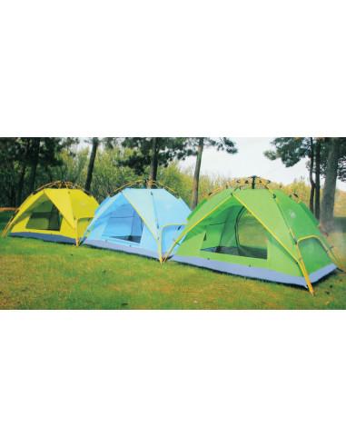 MARKET Tente avec dôme étanche avec moustiquaire 2 personnes