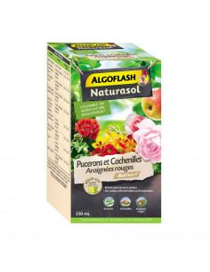 ALGOFLASH NATURASOL Insecticide Pucerons, Cochenilles, Araignées Rouges 250 ml