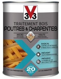 V33 Traitement Bois - Poutres & Charpentes 1 L