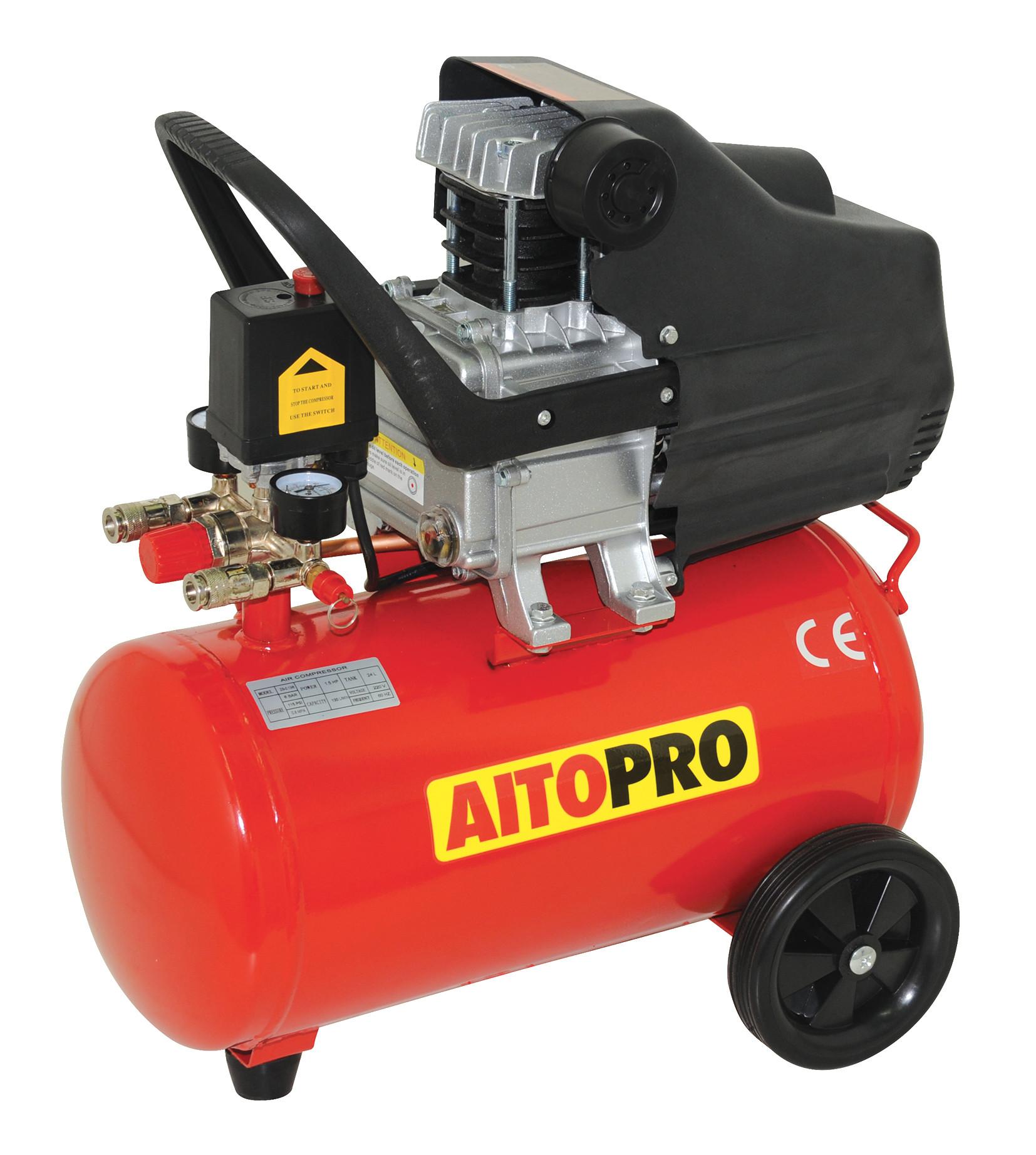 Aitopro Zb 0 13 8 Compresseur 24 L 1 5 Hp Hyper Brico