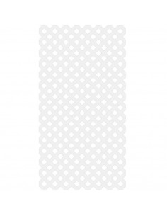 Lattice classic 1,22x2,44m blanc