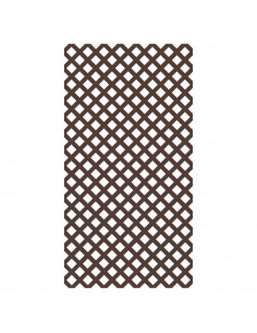 Lattice classic 1,22x2,44m brun fonce