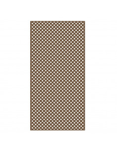 HORIZON PLASTICS Lattice Privacy 1,22 x 2,44 m brun foncé