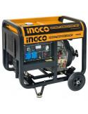 INGCO GDE50001 Groupe électrogène diesel 5000W