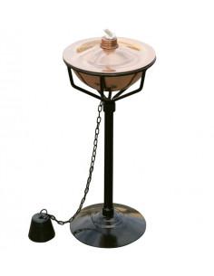 CATRAL Torche sur Pied Cuivre 30,5 cm
