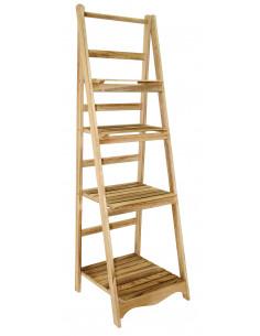 MARKET Etagère bois 50x145cm