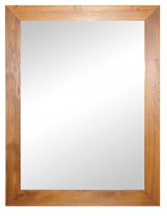 PASCAL JR PILLET Miroir en bois de Teck 70 x H.90 cm