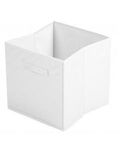 FORNORD Cube de rangement INTISSE 31 x 31 x 31 cm blanc