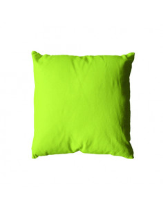 DECOSTARS Coussin Déhoussable Polyester 250 g 40 x 40 cm Anis