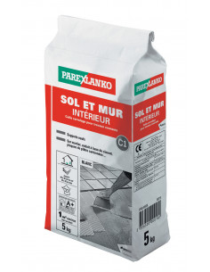 Mortier colle blanche 5kg