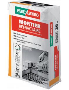 PAREX LANKO MORTIER RÉFRACTAIRE Pour travaux courants de maçonnerie 25 kg