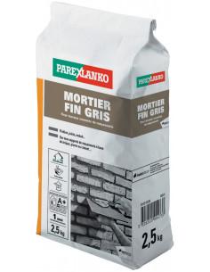 PAREX LANKO MORTIER FIN GRIS Mortier à maçonner prêt à l'emploi 2,5 kg