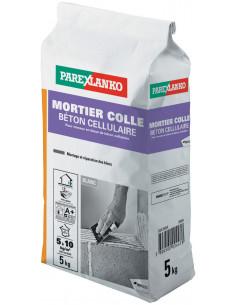 PAREX LANKO MORTIER COLLE BÉTON CELLULAIRE Mortier bloc de béton cellulaire 5 kg