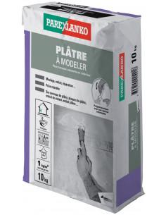 PAREX LANKO PLÂTRE À MODELER Plâtre à prise retardée 10 kg