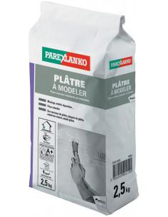 PAREX LANKO PLÂTRE À MODELER Plâtre à prise retardée 2,5 kg