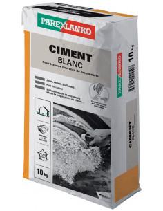 PAREX LANKO CIMENT BLANC Idéal pour travaux courants de maçonnerie 10 kg