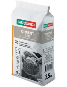 PAREX LANKO CIMENT GRIS Idéal pour travaux courants de maçonnerie 2,5 kg