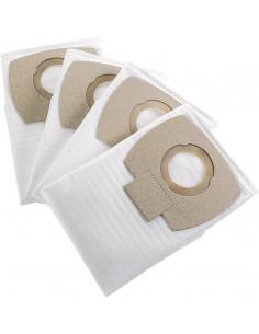 NILFISK Sacs x4 BUDDY Polyester + 1 Filtre à Eau Pour Aspirateur