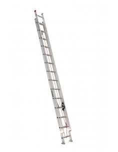 LOUISVILLE L-2324-28 Echelle Aluminium 28' 2 plans coulissants