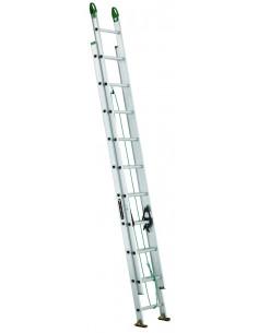 LOUISVILLE AE4220PG Echelle Aluminium 20' 2 plans coulissants