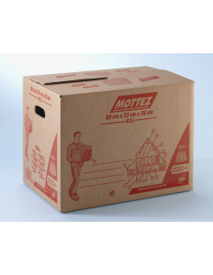 MOTTEZ Carton 100 % automatique 63 litres 500 x 330 x 380 mm