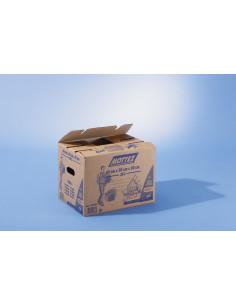 MOTTEZ Carton 36 litres Fermeture automatique  400 x 300 x 300 mm