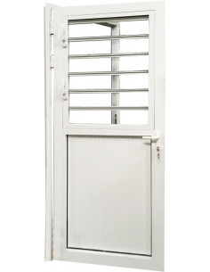 ALU Porte + Fenêtre L.900 x H.2200 mm droite