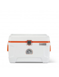 IGLOO STX-54 Glacière blanche bande orange 54qt 51L