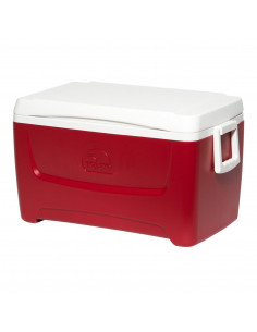 IGLOO Glacière ISLAND BREEZE® 48 48 qt 45 L Rouge