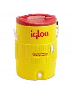 IGLOO Glacière industriel 10 gal 38 L Jaune/Rouge