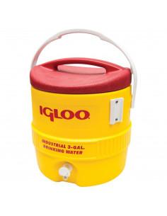 IGLOO Glacière industriel 3 gal 10 L Jaune/Rouge