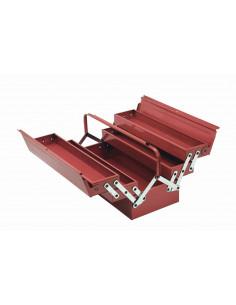 COGEX Caisse à outils métal 46 x 20 x 20 cm 5 compartiments